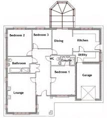 3 bedroom house plan 3 bedroom house floor plans in kenya decohome