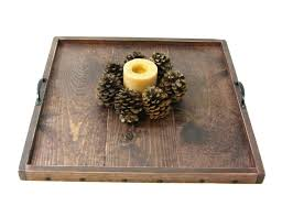 Ottoman Coffee Table Tray Coffee Tables Ottoman With Tray Decorating Trays For Party Large