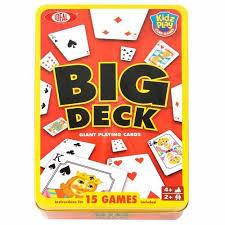 poof big deck cards walmart