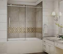 Kohler Bathtub Shower Doors Shower Amusing Installing Frameless Tub Shower Doors Famous