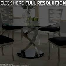 chair contemporary round dining room tables awesome solid glass