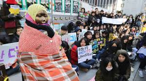 Japanese Comfort Women Stories Comfort Women How The Statue Of A Young Caused A Diplomatic