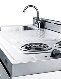 small kitchen sink and cabinet combo all in one combination kitchenettes summit appliance