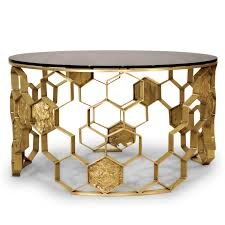Coffee Tables Glass by Contemporary Coffee Table Glass Brass Round Manuka