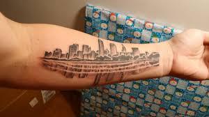 city skyline tattoo ideas tattoo com