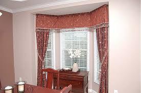 home design dressing bay windows ideas cool window curtains