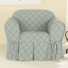 Oversized Accent Chair Furniture Plaid Patterned Slipcover For Oversized Accent Chair
