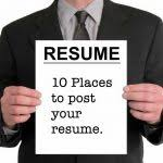 Post Your Resume Online Shining Design Where To Post Resume 2 The 10 Best Sites Post Your