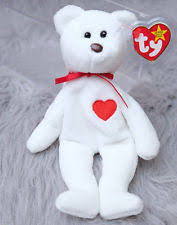 ty valentino ty 1993 valentino beanie baby 1st edition misspelled tag pe