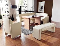 Dining Room With Bench Seating Bench Dining Room Sets Bench Seating Amazing White Bench Seat