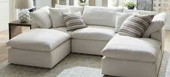 Small Chaise Sectional Sofa Fabric Sectionals