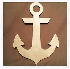 anchor wood 32 inch large wooden anchor anchor nautical decor