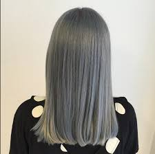 steel grey hair color inspiration via stylist hanna florby who