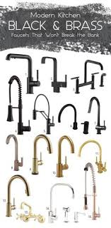 kitchen faucets touchless ell kitchens 10 bold black kitchen faucet designs black kitchen faucets