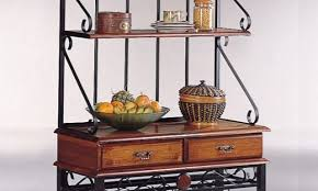 Dome Bakers Rack Bakers Rack With Wine Storage Archives Bakers Racks Collection