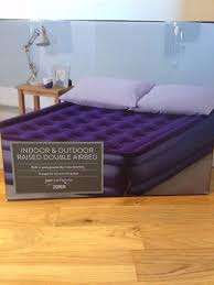 Tesco Bed Frames Indoor And Outdoor Tesco Raised Airbed With Electric