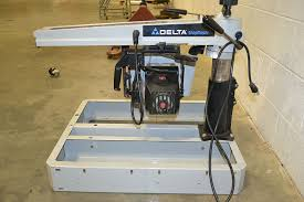 Delta Shopmaster Table Saw Delta Rs830 Shopmaster 1 5hp Radial Arm Saw The Equipment Hub