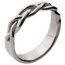 braided wedding band braided wedding band white gold 6 doron merav