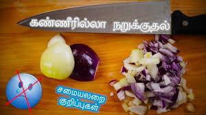 3 vengayam narukum kuripukal in tamil kitchen tip session 3