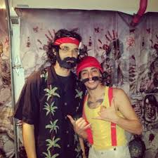 Cheech Chong Halloween Costumes Smoke