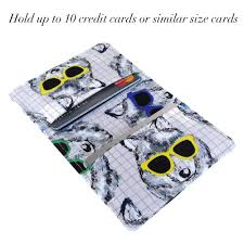 Dog wallet womans wallet travel wallet minimalist wallet