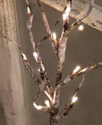 Lighted Branch Tree Birch Lighted Branch Craft House Designs