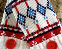 fleece lined mitten etsy