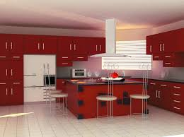 kitchen designs modular kitchen island design with red cabinet