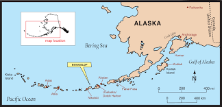 Maps Of Alaska by Location Map Of Bogoslof Volcano