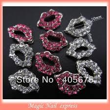 100pcs animal shape spider gold nails 3d decoration charms diy