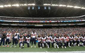 Houston Texans Flags Most Of Nfl U0027s Houston Texans Kneel During Anthem After Owner U0027s