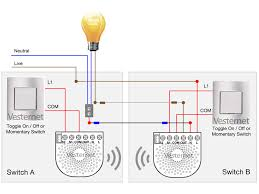 apnt 143 standard 2 way lighting circuit with neutral using