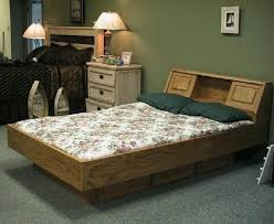 Water Bed Frames Crafted Oak Waterbed By Wwbeds Custom Furniture Custommade