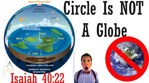 biblical flat earth intro circle is not a globe