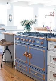 Blue And White Kitchen Cabinets 76 Best Copper Hardware Images On Pinterest Kitchen Copper
