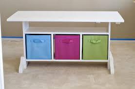Diy Childrens Desk Brilliant Children S Desk With Storage Throughout White