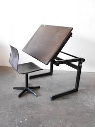 Drafting Tables Friso Kramer Style Kids Drafting Table And Chair Amsterdam Modern