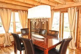 Log Cabin Dining Room Furniture Log Cabin Colors