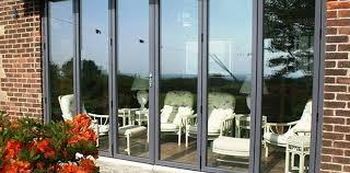 aluminium and hardwood bifold doors free uk delivery folding