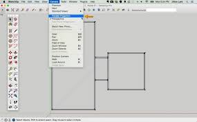 draw a floor plan how to draw a 2d floor plan to scale in sketchup from field how to