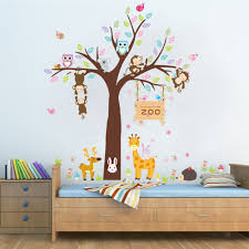 compare prices on jungle wall stickers online shopping buy low large removable kids bedroom jungle wall stickers home decor nursery wall decals living room wall arts