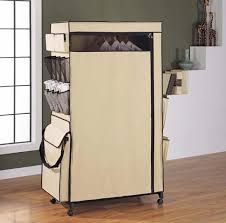 Serving Station Patio Cabinet Mobile Wardrobe Center In Clothing Racks And Wardrobes