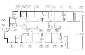 medical office floor plan valine