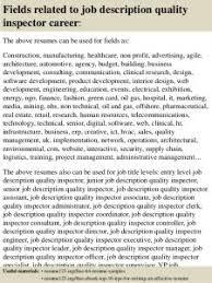 construction inspector resume sumptuous design ideas quality inspector resume 14 top 8 job
