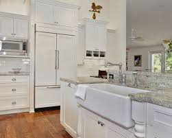 Hobo Kitchen Cabinets Blanco Gabrielle Granite Houzz