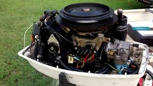 1988 johnson 25 hp youtube