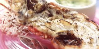 cuisine langouste plancha langouste grillée au pastis facile recette sur cuisine actuelle
