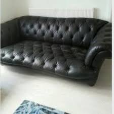 Dfs Chesterfield Sofa Used Dfs Oskar Large Leather Chesterfield Sofa In Stoke On Trent