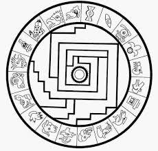 indian aztec mandala coloring pages worksheet