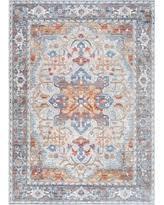 6 X 8 Area Rug Bargains 40 Off Nuloom Persian Leonor Vintage Kkas20a Aqua 2 U0027 6